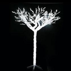 Ёлки оптоволоконные и световые деревья
