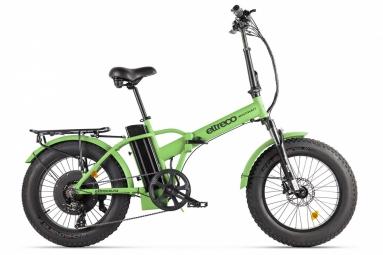 Велогибрид Eltreco MULTIWATT NEW Зелёный карбон
