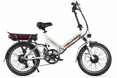 Велогибрид WELLNESS CITY DUAL white