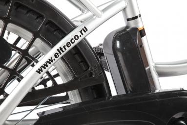 Велогибрид Eltreco e-ALFA dark grey