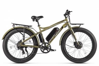 Велогибрид VOLTECO BIGCAT DUAL NEW 2020 Хаки