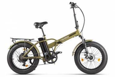 Велогибрид VOLTECO CYBER Хаки