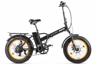 Велогибрид VOLTECO CYBER Черно-оранжевый