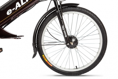 Велогибрид Eltreco e-ALFA GL brown