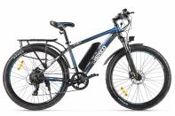 Велогибрид Eltreco XT 850 new Серо-синий