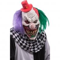 """Маска """"Жуткий клоун в шляпе"""""""