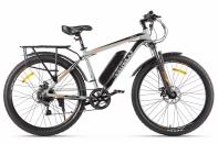Велогибрид Eltreco XT 800 new Серо-черный