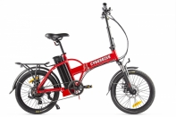 Велогибрид Cyberbike LINE Красно-черный