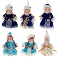 Кукла Снегурочка, 9 см, 6