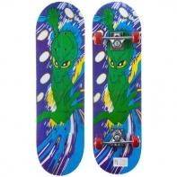 Скейтборд разм. деки 43х12, 5 см, кит. клён, подвеска PP, колеса PVC 48х28 мм, подшипники 608Z.