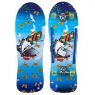 Скейтборд разм. деки 76х26 см, кит. клён, подвеска-Al, колеса PU 50х30 мм, подшипники 608Z.