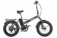 Велогибрид VOLTECO CYBER Серо-черный