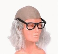 """Лысина с волосами и очками """"Профессор"""""""