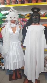 Пара в белом