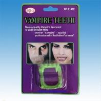 Челюсти вампира светящиеся в темноте 2 * 3,5 см.