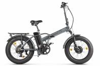 Велогибрид VOLTECO BAD DUAL NEW темно-серый