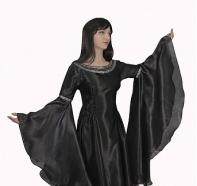 """Платье """"Ведьма Средневековая"""" черное"""