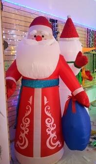 Дед-Мороз надувной 280 см