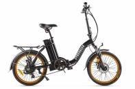 Велогибрид Cyberbike FLEX Черно-оранжевый