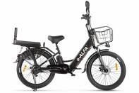 Велогибрид GREEN CITY e-ALFA Fat Черный