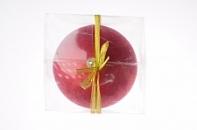 Рождественский шар 20 см, красный