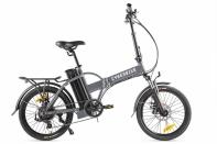 Велогибрид Cyberbike LINE Серо-черный