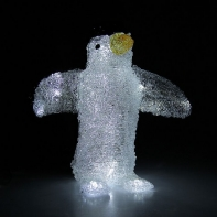 """Фигура акрил. """"Пингвин с крыльями"""" 32х30, контрол. 8р., 220V"""
