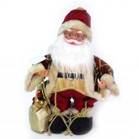 Дед Мороз с функцией движения и музыкой, 30 см