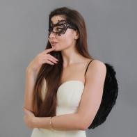 """Карнавальный костюм """"Ангельски прекрасна"""" крылья, маска, повязка"""