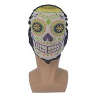 """Карнавальная маска текстиль """"Череп"""""""