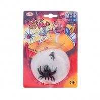 "Прикол ""Паутина + 2 паука"""
