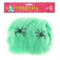 """Прикол """"Зеленая паутина"""" 2 паука"""