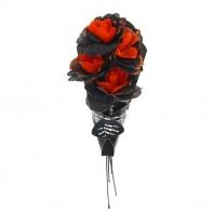 """Букет цветов """"Скелет"""", цвет оранжевый"""