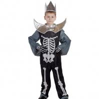 """Карнавальный костюм """"Кощей Бессмертный"""", головной убор, костюм, плащ, рост 122 см"""