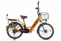 Велогибрид GREEN CITY e-ALFA new Золотистый