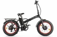Велогибрид VOLTECO BAD DUAL NEW Черно-красный