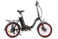 Велогибрид Cyberbike FLEX Черно-красный