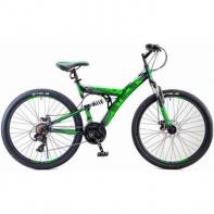 """FOCUS 26"""" MD 18"""" V010 черный / зеленый"""
