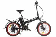 Велогибрид Cyberbike LINE Черно-красный