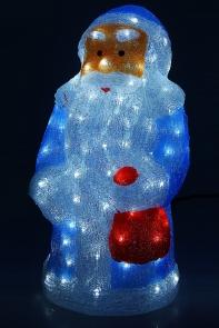 "Фигура акрил. ""Дед мороз"" 35х31х66 см, 220V, 100 LED, контроллер 8 режимов"