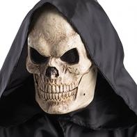 """Маска """"Скелет с подвижной челюстью"""""""