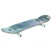 Скейтборд 3108 YG светящийся, размер 78,5x19.5 см, колеса PU d= 55*30 мм, алюмин.рама