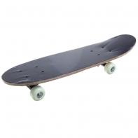 "Скейтборд 24*6"", колеса PVC 50*30 мм, пластиковая рама, клен 9 слоев, нагрузка до 50 кг"