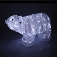 """Фигура акрил. """"Медведь большой"""" 62 х 35 х 32 см, 100 LED, с конр. 8р.,220V"""