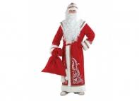 Дед Мороз аппликация красный