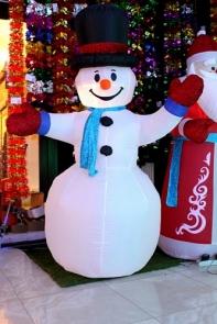 Снеговик надувной 200 см
