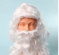 "Комплект ""Санта-Клаус"" белый (парик+борода)"