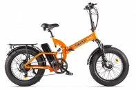 Велогибрид Eltreco TT Max Оранжево-черный