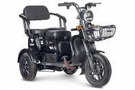 Трицикл Rutrike Бумеранг (Черный-2340)