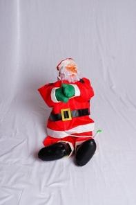 Санта-Клаус на верёвке, 90 см